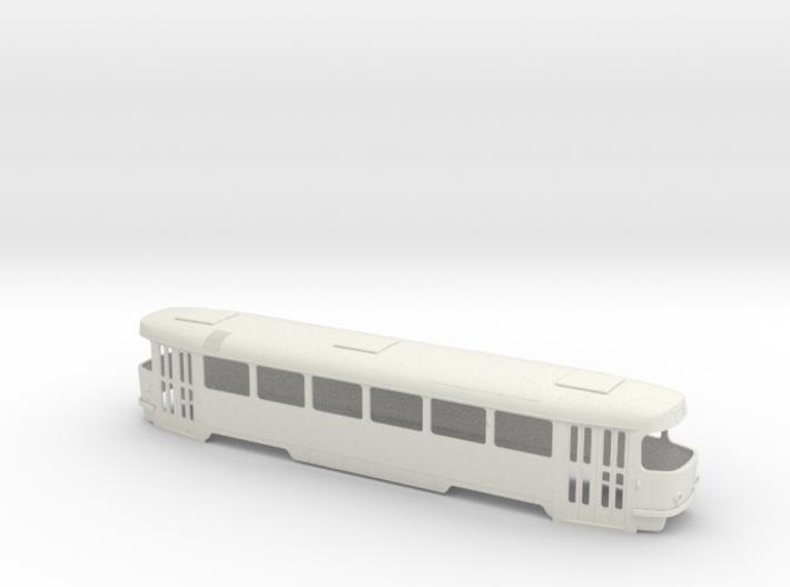 Tatra T3SU 0 scale [body] 3d printed