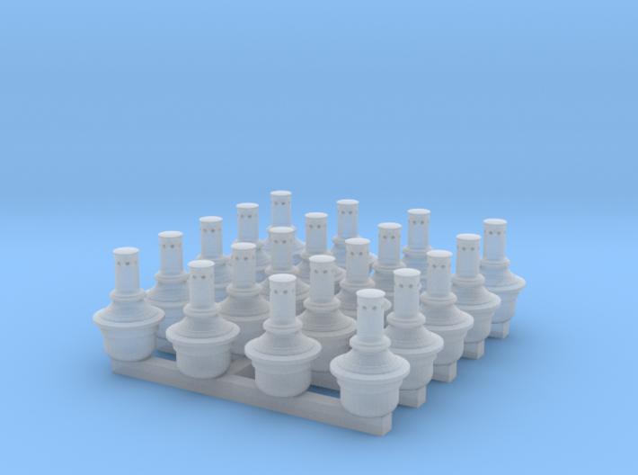 Pintsch-gas lamps x20 3d printed