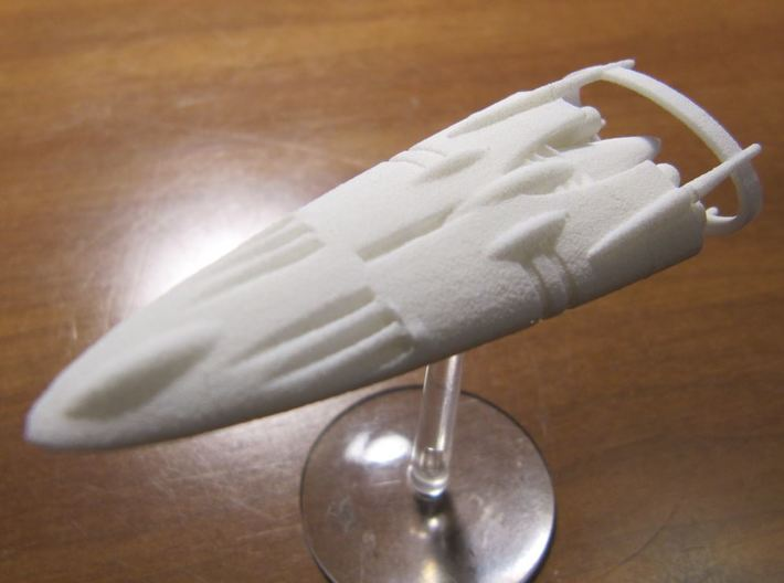 Slipstream IV-E 3d printed IV-E shown in WSF, but optimized for WSFP.
