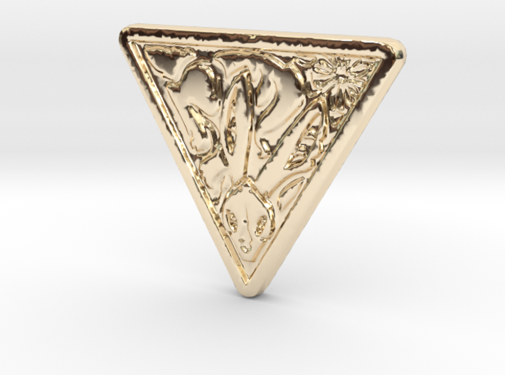 Lapine Coin 3d printed