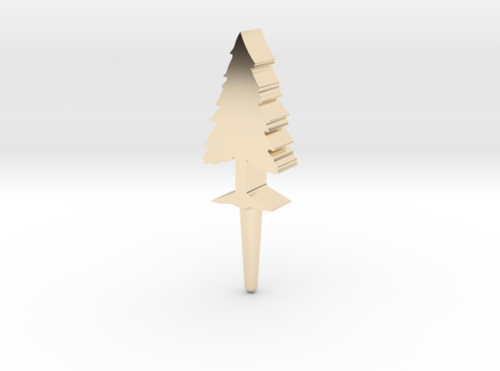 Tree Peg 3d printed