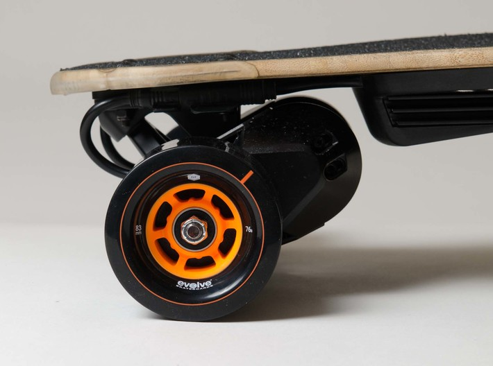 Evolve  GT 83mm Wheel Hack for Boosted Board V2 3d printed