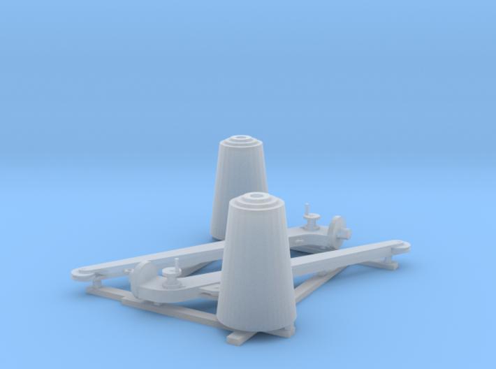 Minesweeping_Hoist_Pair 3d printed