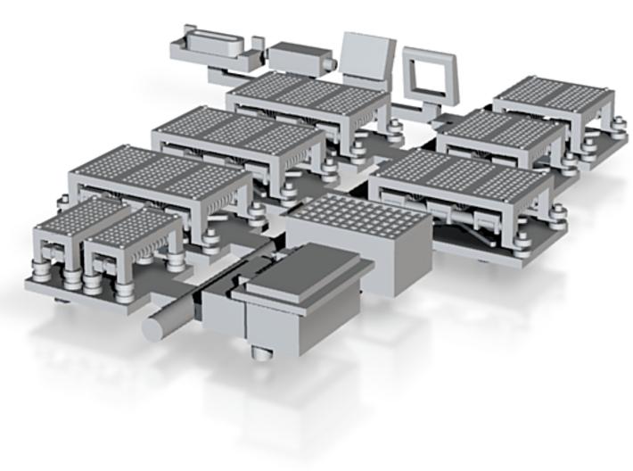 HO Kawasaki LRV Roof Detail-Up Set 3d printed