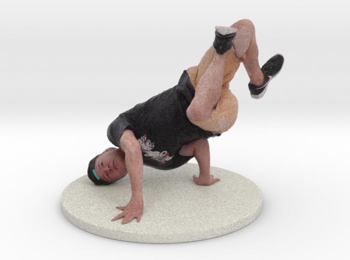Scanned Dancer - Breaking 780 3d printed