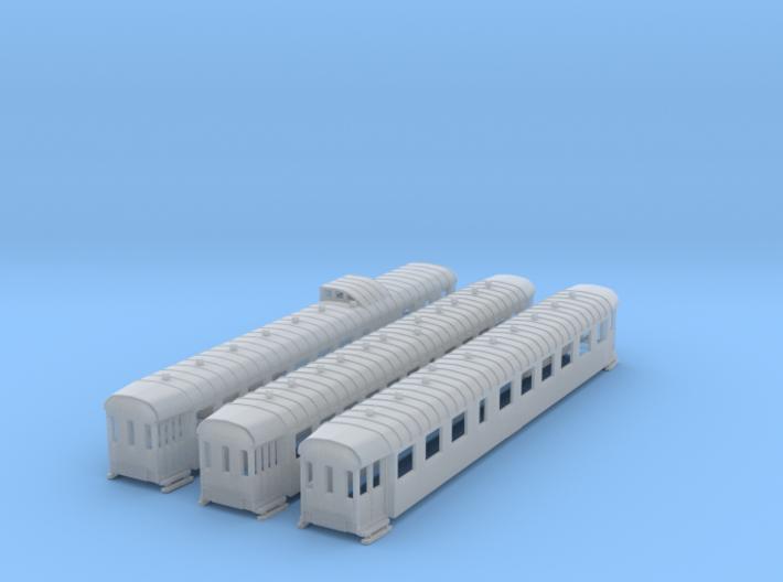 N-SNCB- Type K2- Rame de 3 voitures 170815 3d printed