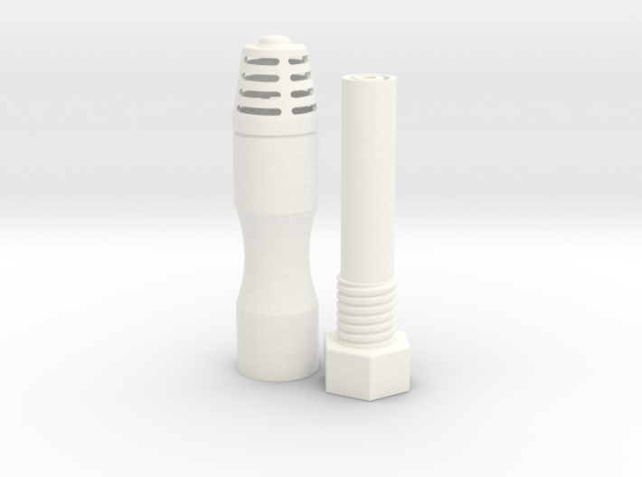 Jetpack Beacon ROTJ & ESB With LED Post & Attachme 3d printed