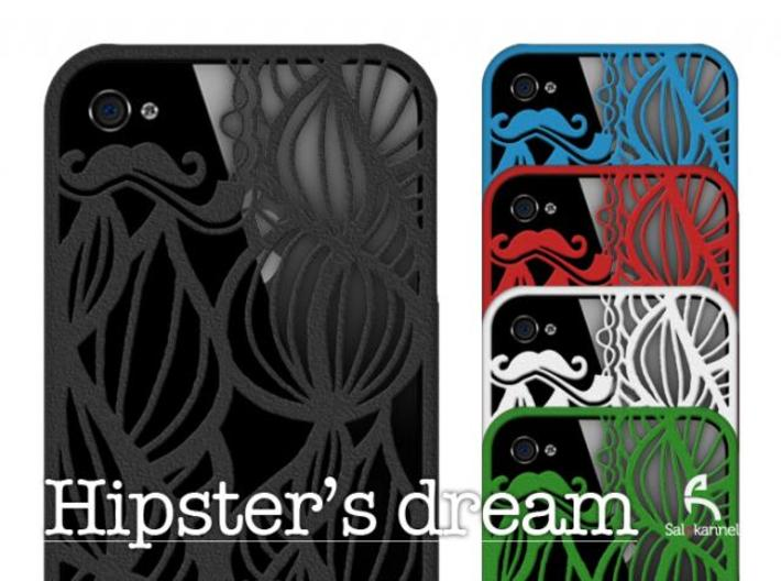 Hipster's Dream - case for iPhone 4/4s 3d printed Hipster's dream