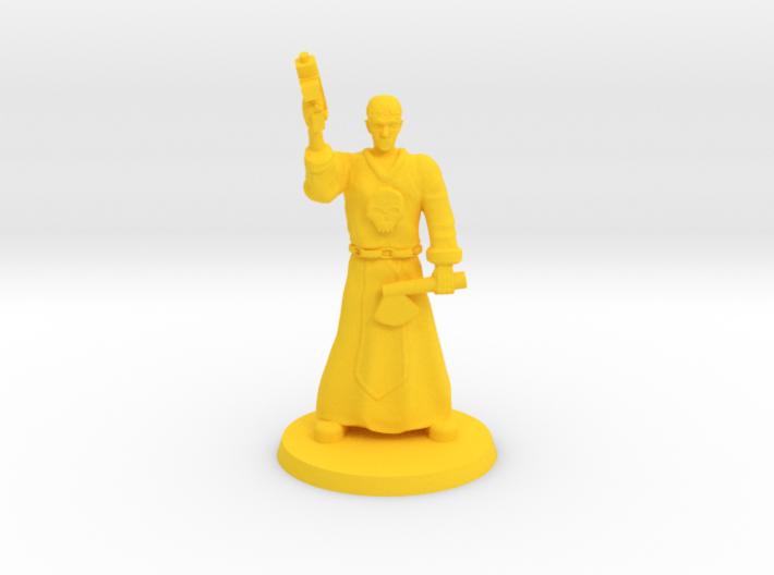 Deathboy Preacher 3d printed