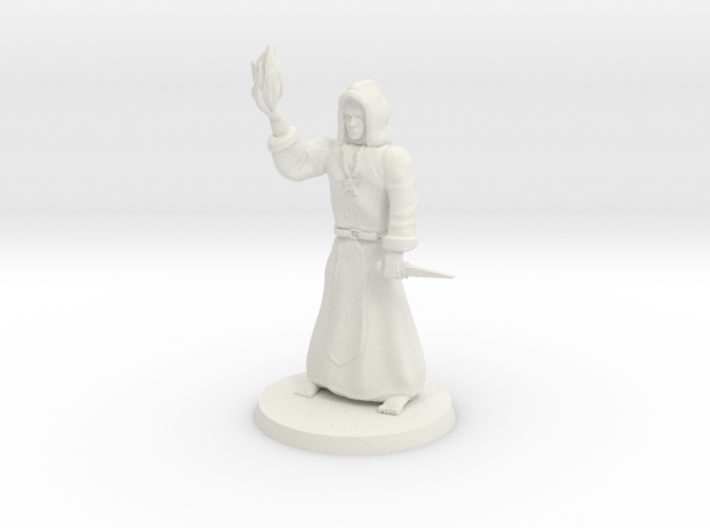 Dark Necromancer 3d printed