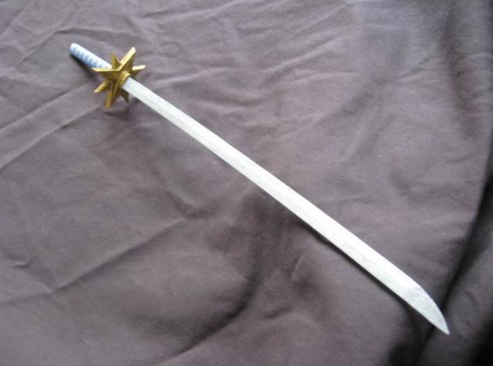 Katana5 3d printed A painted example of this sword.