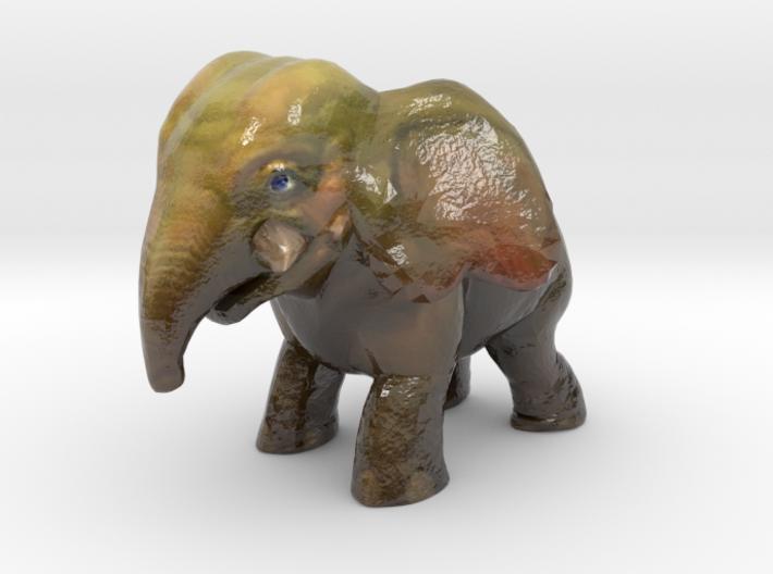 Baby Elephant 3d printed