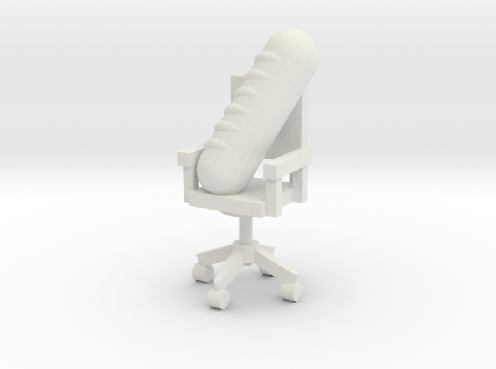 Gros Pain Seated on Office Chair  3d printed