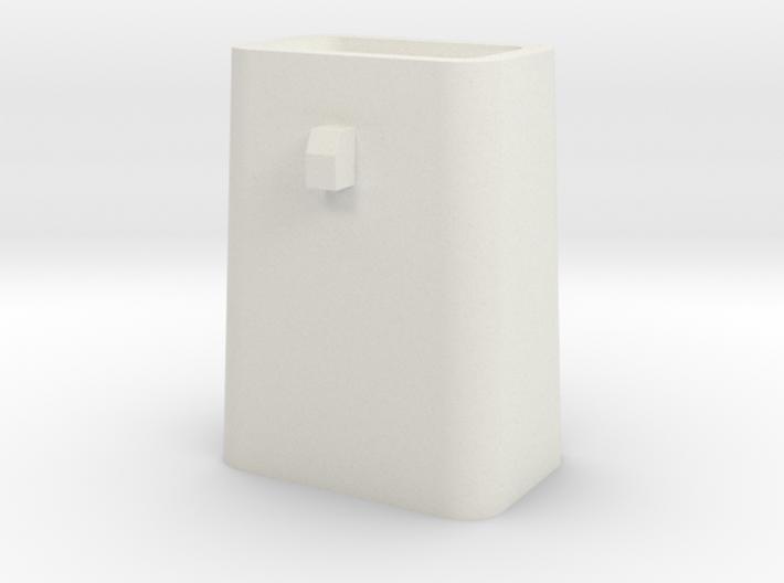 Stahlkokille 2 Zapfen Quer mit Guß 1:120 3d printed