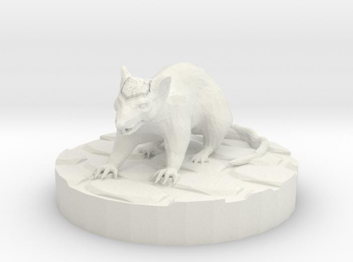 Cranium Rat 3d printed