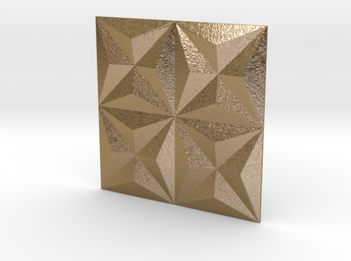 3d Tile_1_metal 3d printed