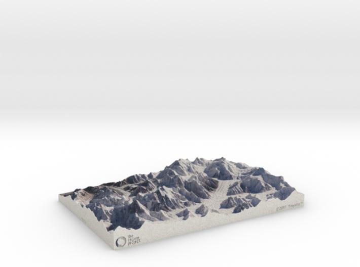 Rewire K2, 1:100000 3d printed
