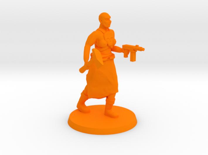 Deathgirl Preacher 3d printed