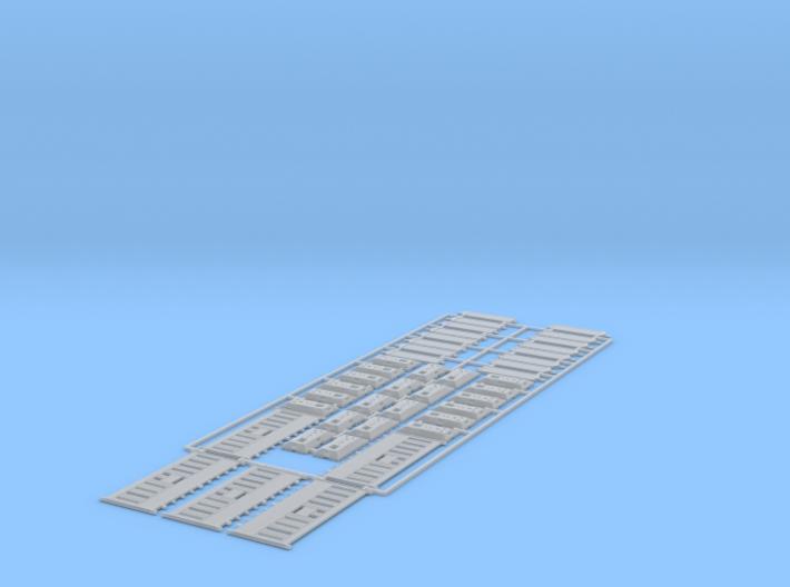 1/87 HO Baustellensicherung 5 + 16 +22 3d printed