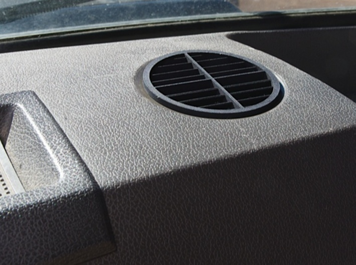 RR Dash Vent 3d printed After!