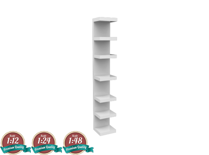 Miniature Wall Shelf Unit - IKEA 3d printed Miniature Wall Shelf Unit - IKEA