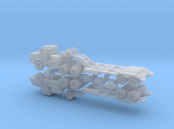 Thornycroft Antar Mk. 2 Tank Transporter 1/285 3d printed