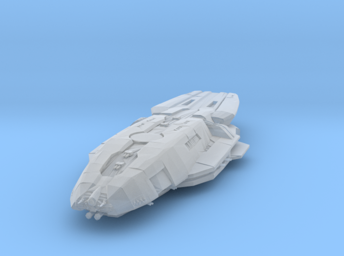 Cygnus Class Gunstar 1:10000 3d printed