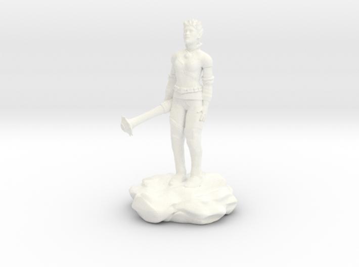 Violet Goldleaf, Gnome Warlock with Rod 3d printed
