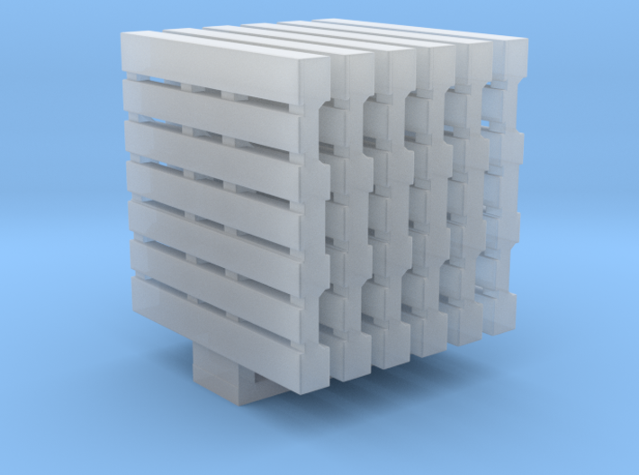 Pallets 01. HO Scale (1:87) 3d printed
