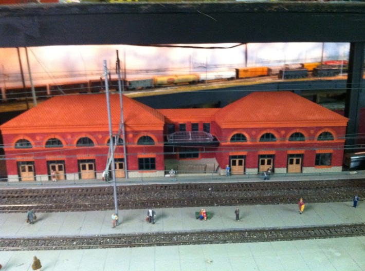 WILMINGTON STATION SOUTH B ROOF 3d printed