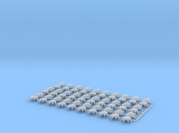 60x Devastator Blast : Shoulder Insignia pack 3d printed