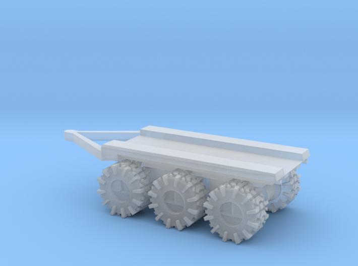 All-Terrain Vehicle 3 axil trailer for modular loa 3d printed