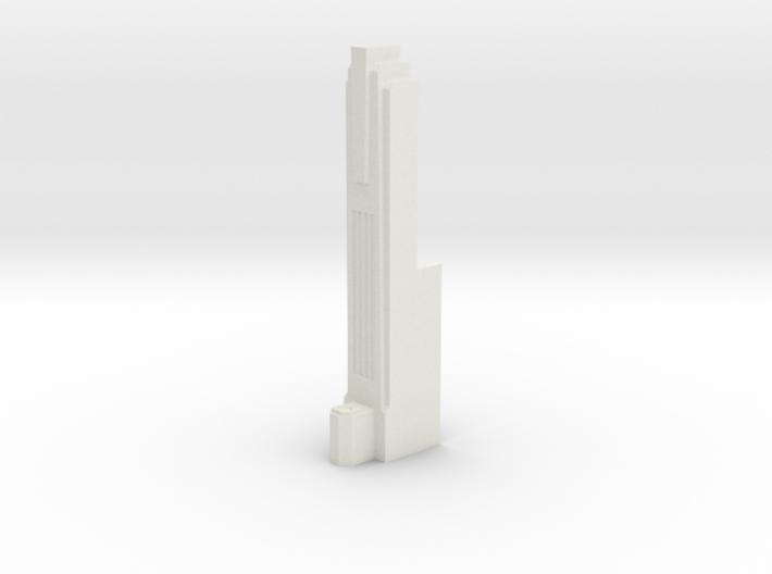 Triple Underpass West Roadway Pillar 3d printed