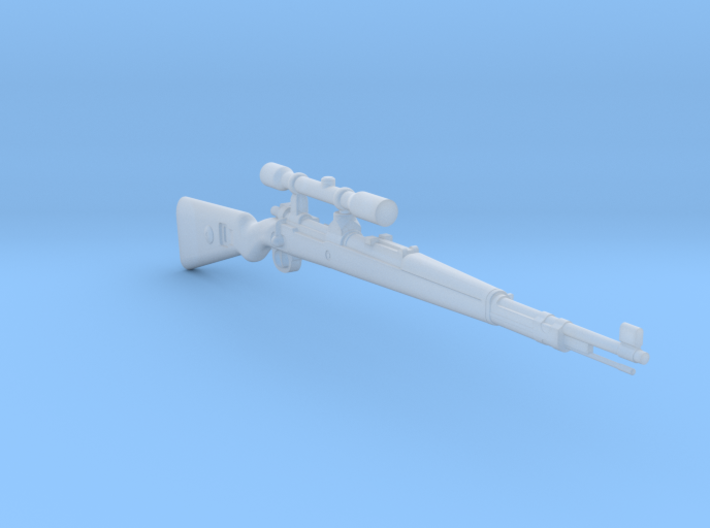 Kar98K ZF42 (1:18 scale) 3d printed