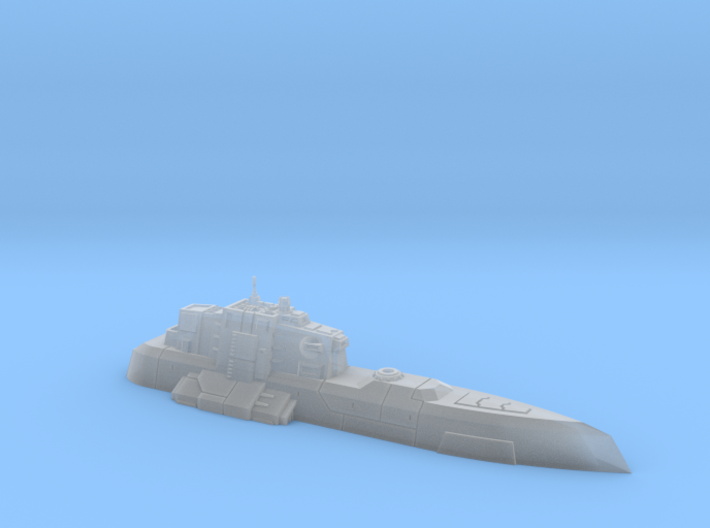 1/270 Imperial Ghest-class Monitor 3d printed