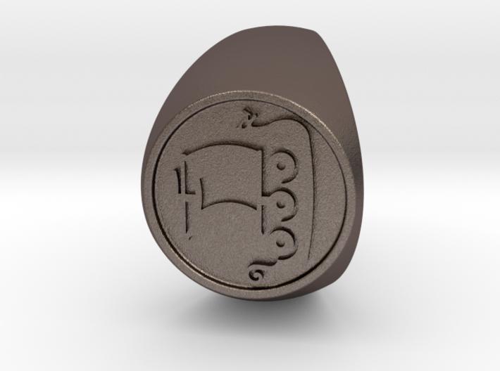 Custom Signet Ring 56 3d printed