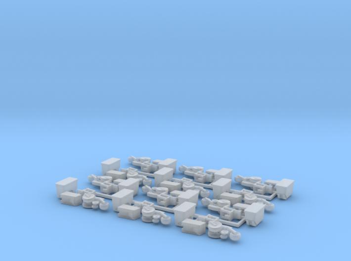 Case IH 1200 Row Unit w/ Standard Hopper (12) 3d printed