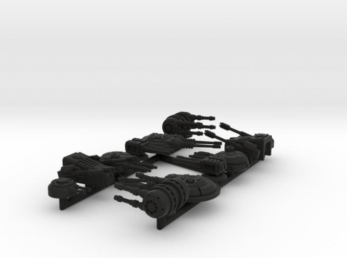 1/270 Turret Variety Pack 3d printed