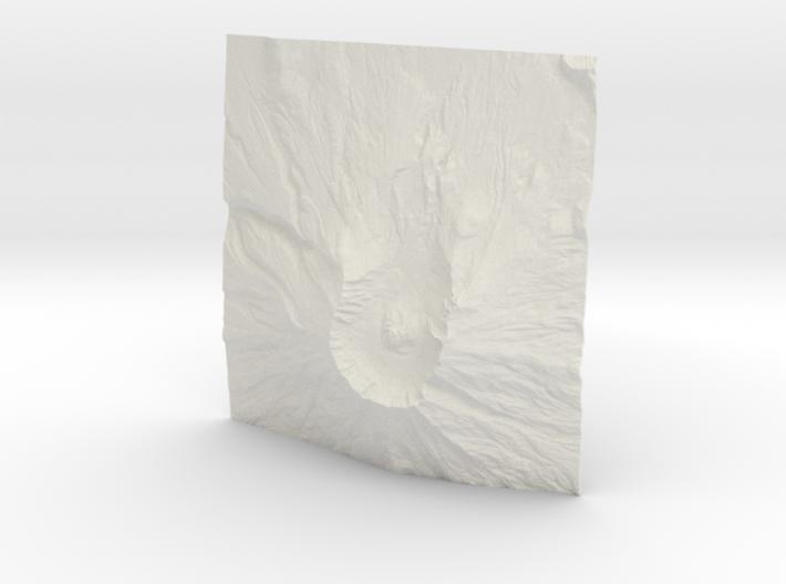 6'' Mt. St. Helens, Washington, USA 3d printed