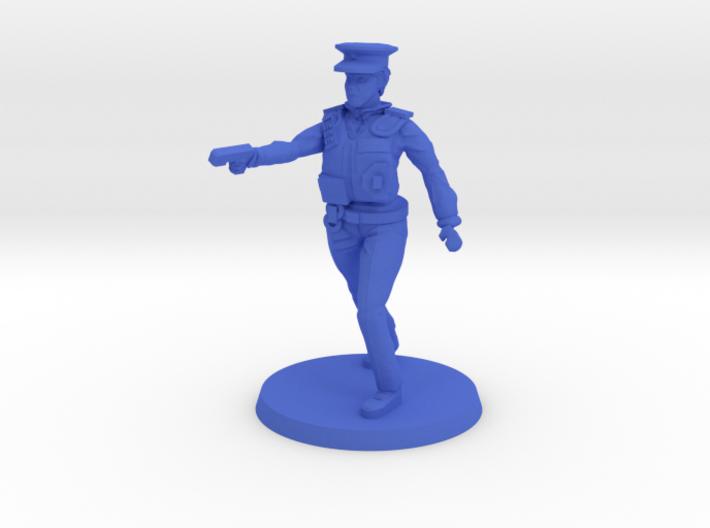 Officer Bobbi 3d printed