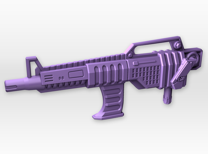 Blaster for TR Leader Overlord 3d printed