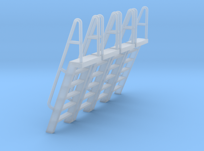 HO Scale Ladder 6 3d printed