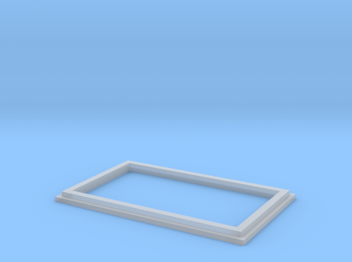 N9063 - Betonplattenform (N 1:160) 3d printed
