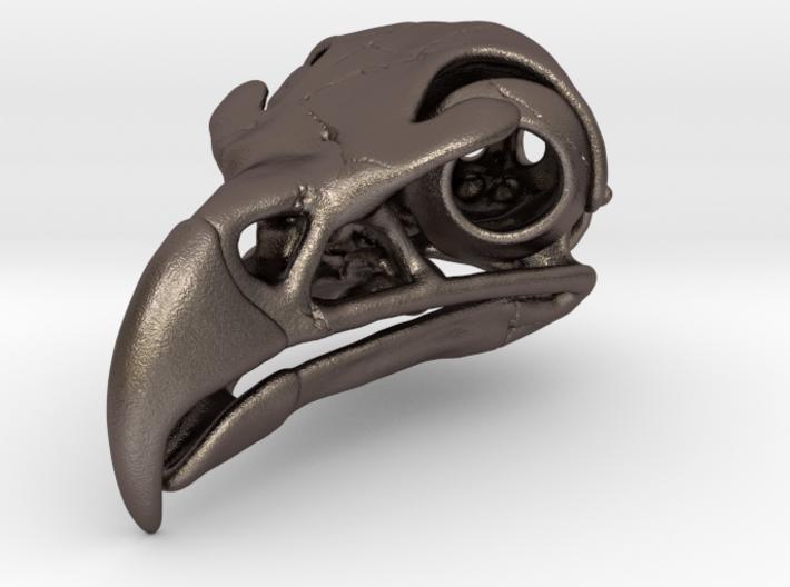 Eagle Skull Pendant 3d printed