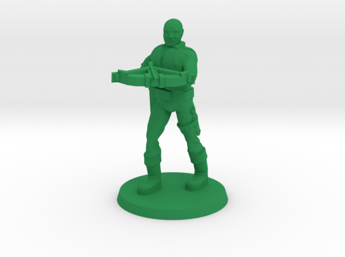 Andrew the Crossbowman 3d printed