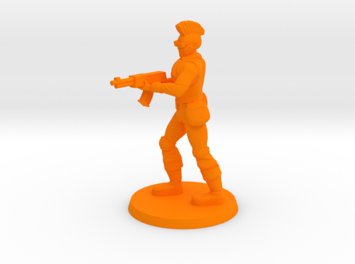 Mercenary Andrew 3d printed