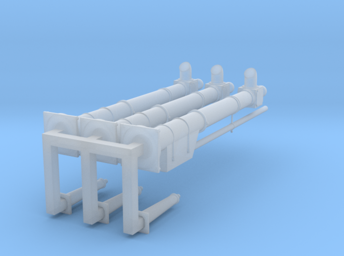 NB Water Crane with Handle. 3 Pack 3d printed