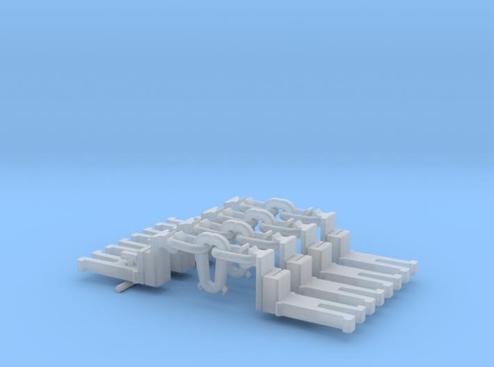 NEM OO Type 29 Couplings - Big-Step Up Inst' x4 3d printed