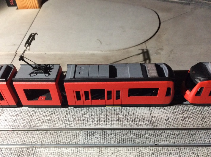 #87-4001 Siemens S70 LRV carbodies ABC 3d printed