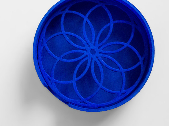 Flower Soap Dish 3d printed